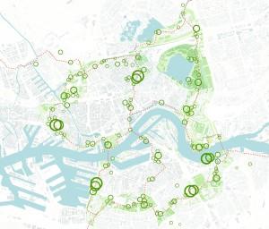 Route - [INITIATIEVEN Groenmet goren ondergrond